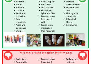 Household Hazardous Waste Pick Up